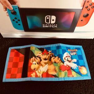 Super Mario Nintendo Bi-fold Wallet
